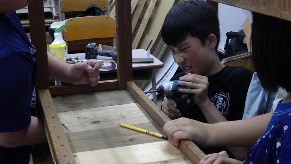 初等部の授業より-『道具と手仕事』-
