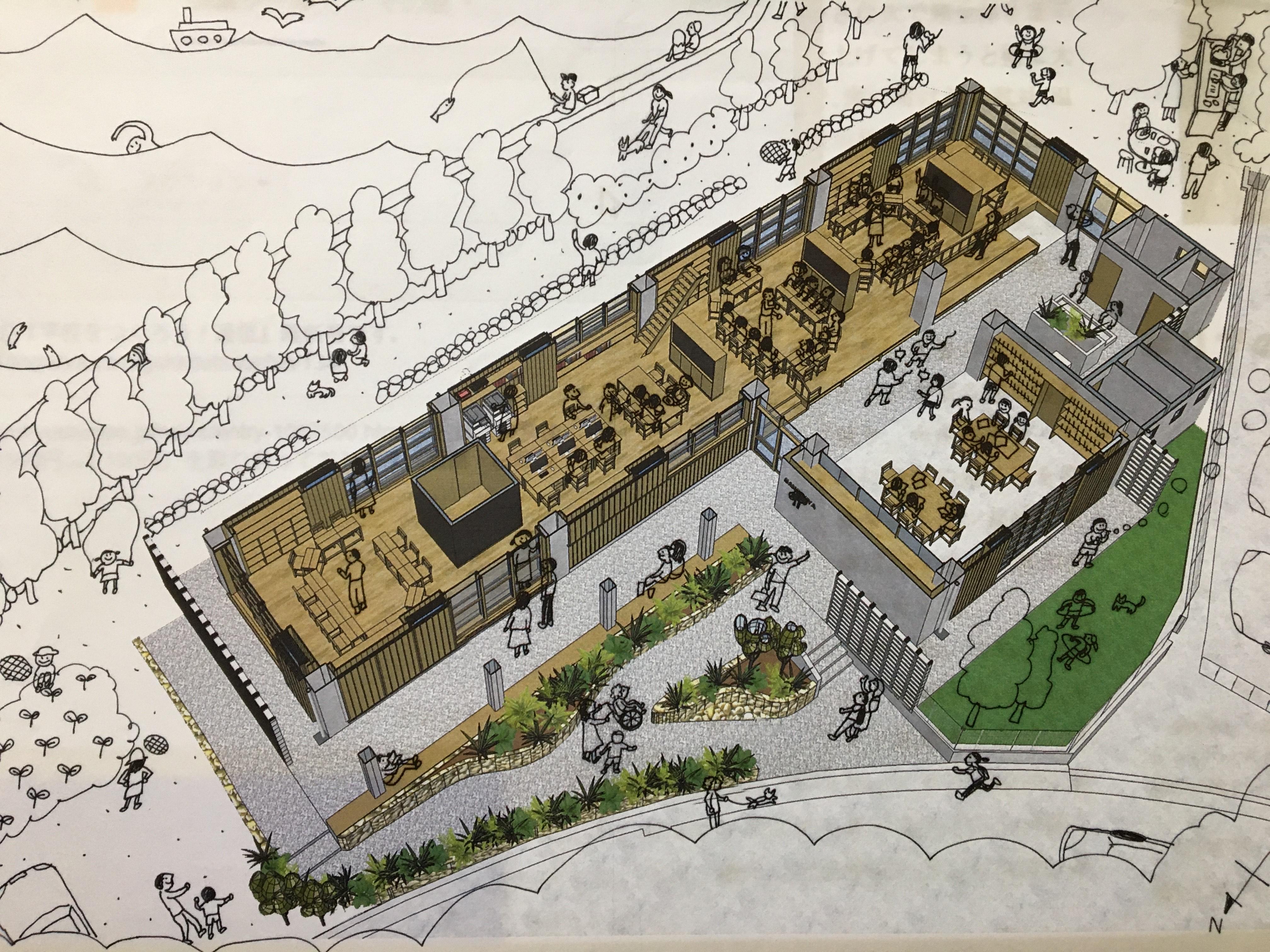 新校舎の建設が始まりました